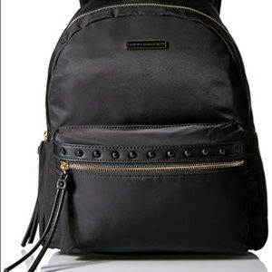 New Tommy Hilfiger Black Corinne Dome Backpack